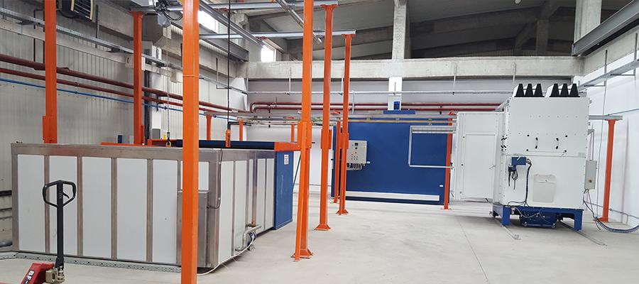 Vopsire in camp electrostatic prin Global Tech