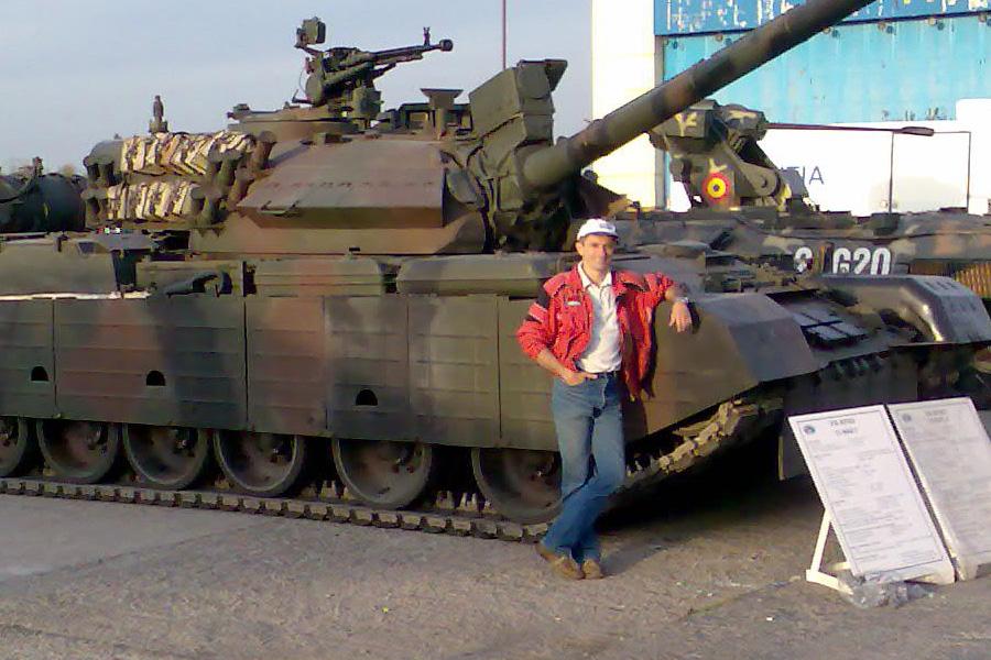 Expozitia de tehnica militara BSDA Bucuresti 2007