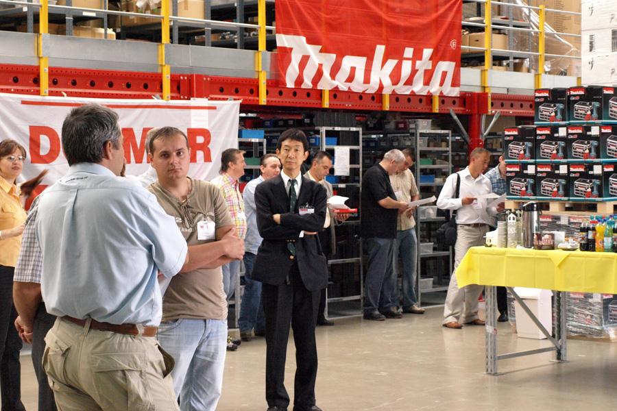 Training de vanzari Dolmar la fabrica Makita