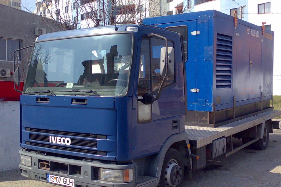 Generator de inchiriat 300 KVA autotractat