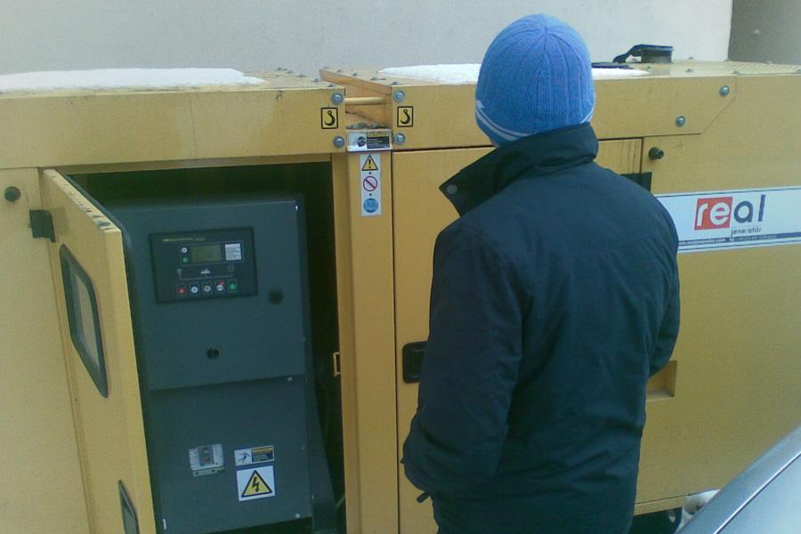 Reparatie generator curent Emsa de 70 kva