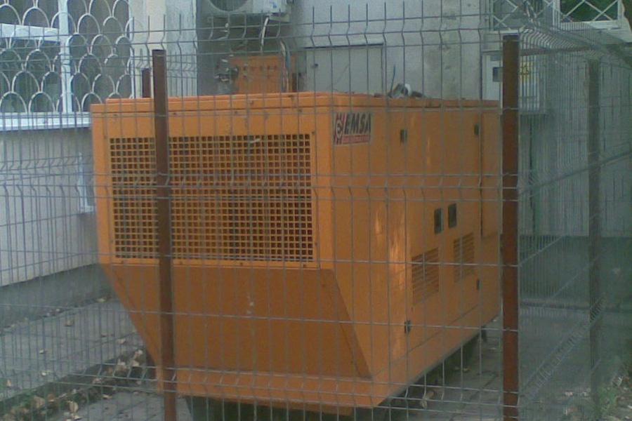 Generator de curent Emsa 150 Kva, automat, insonorizat