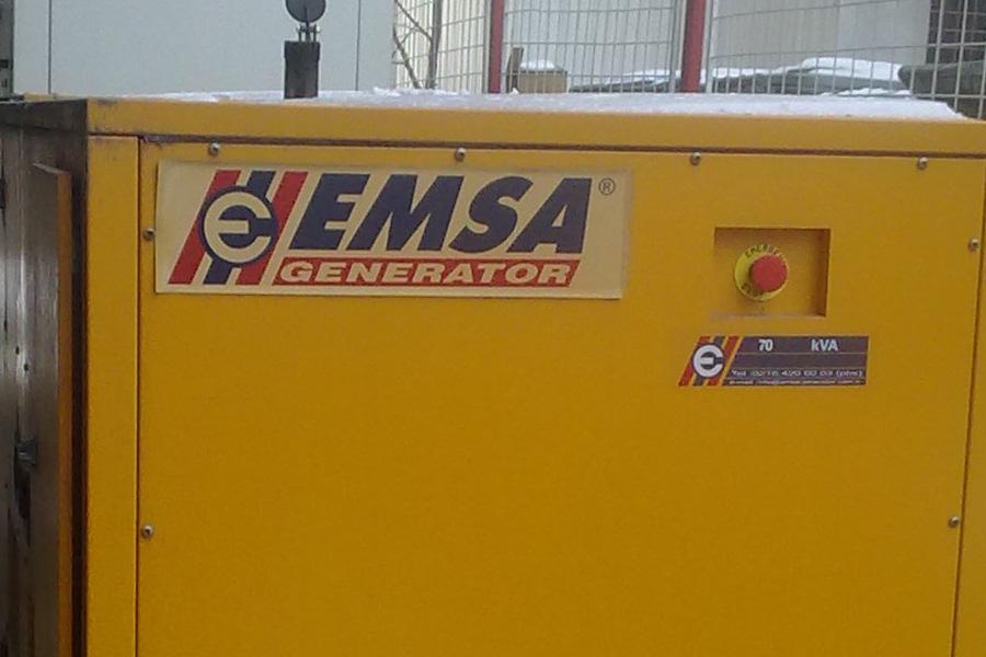 Generator curent Emsa de 70 Kva