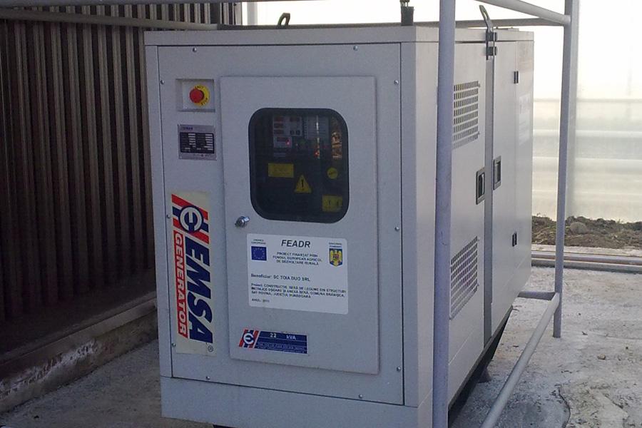 Grupuri electrogene diesel de 20 si 70 KVA
