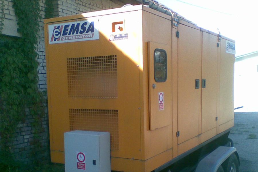 Reparatie generator Emsa ED150
