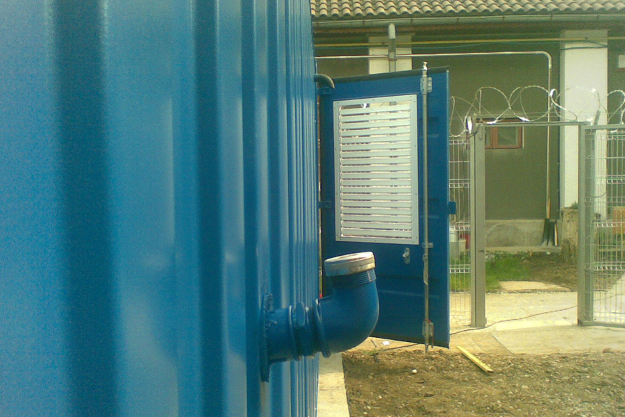 Grup generator curent container 2x60 Kva