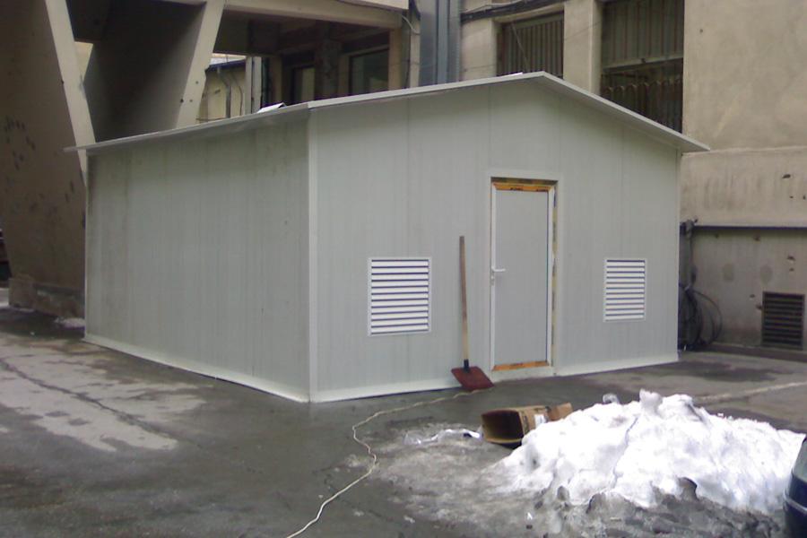 Grup generatoare de curent Coelmo 2 x 200 Kva in shelter