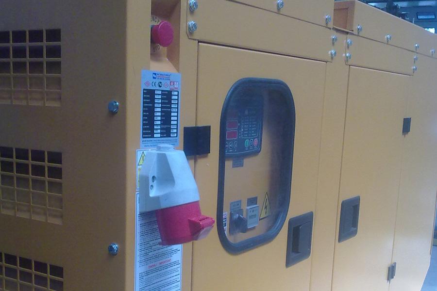 Instalare grup electrogen automat 31.5 Kva