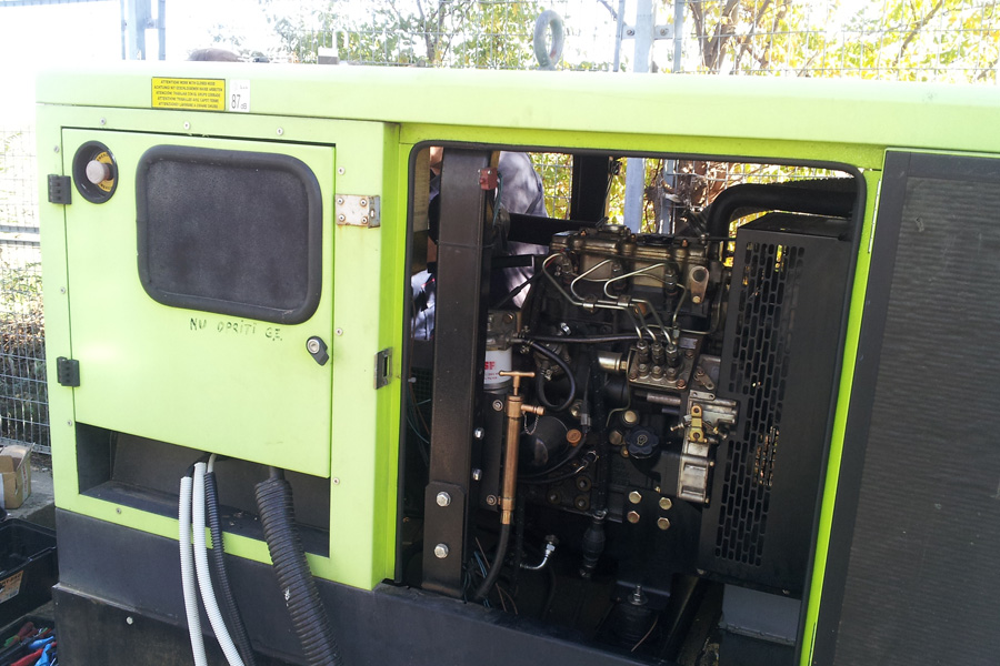 Reparatie generator de curent Pramac