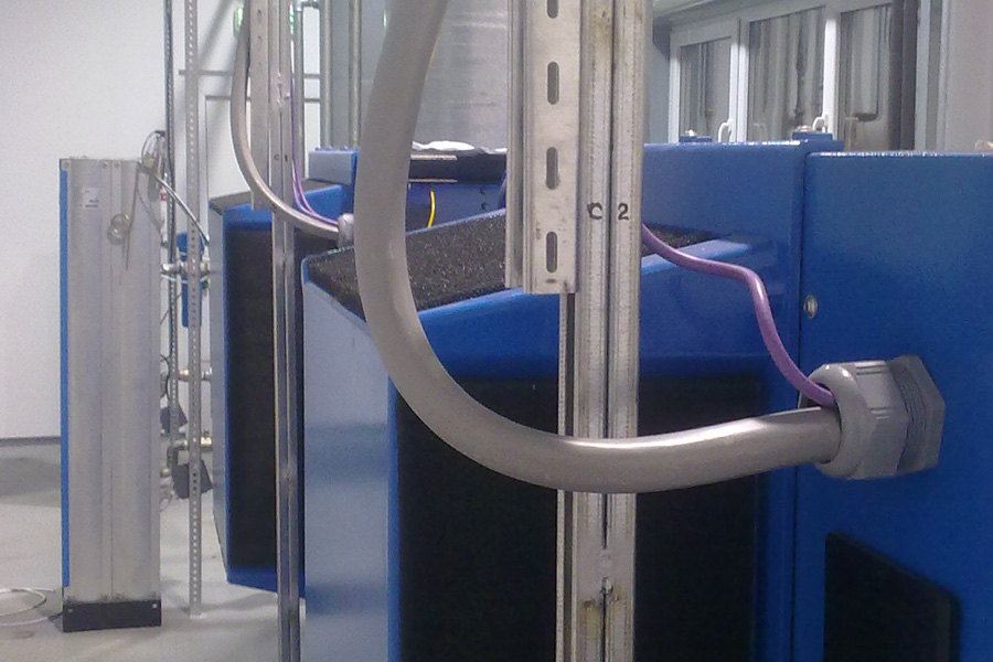 Instalare compresoare Alup 2 x 37 Kw
