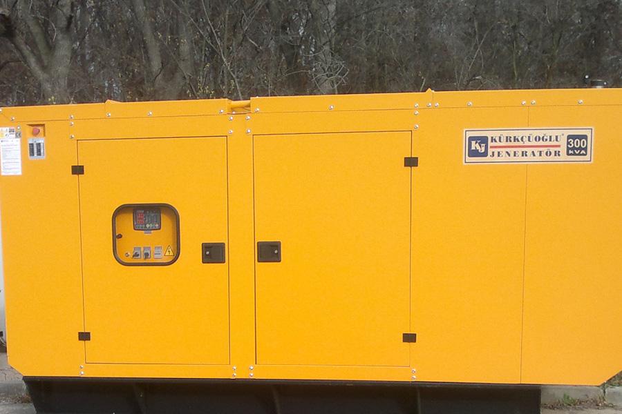 Instalare generator de curent 300 KVA