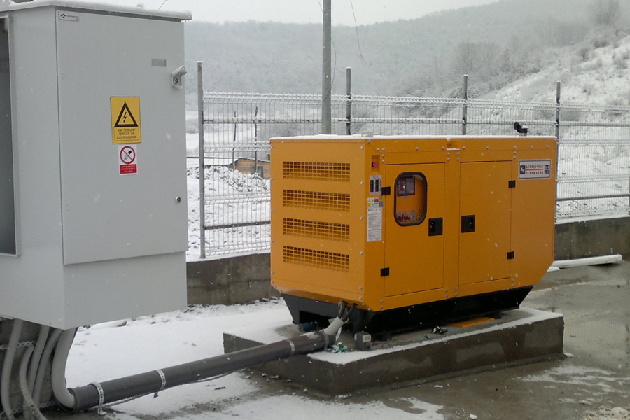 Grup electrogen automat insonorizat 135 KVA