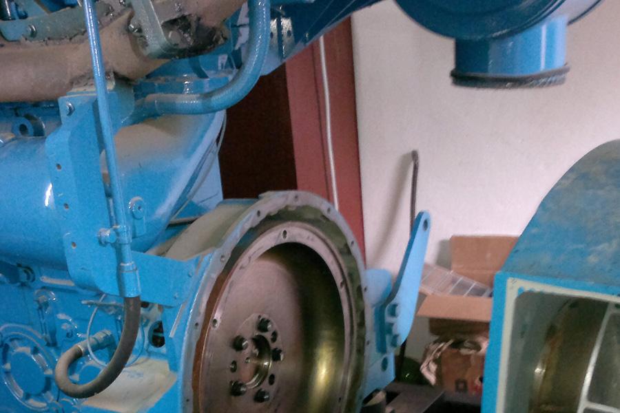 Reparatie generator de curent 800 KVA