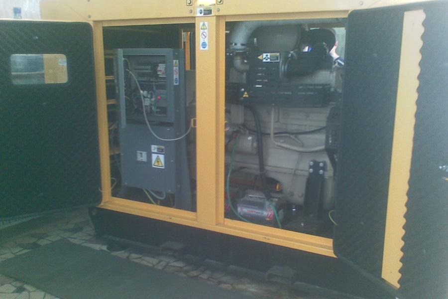 Generator curent Real 100 Kva