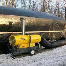 Aeroterme industriale (tunuri de caldura, generatoare aer cald) - Global Tech