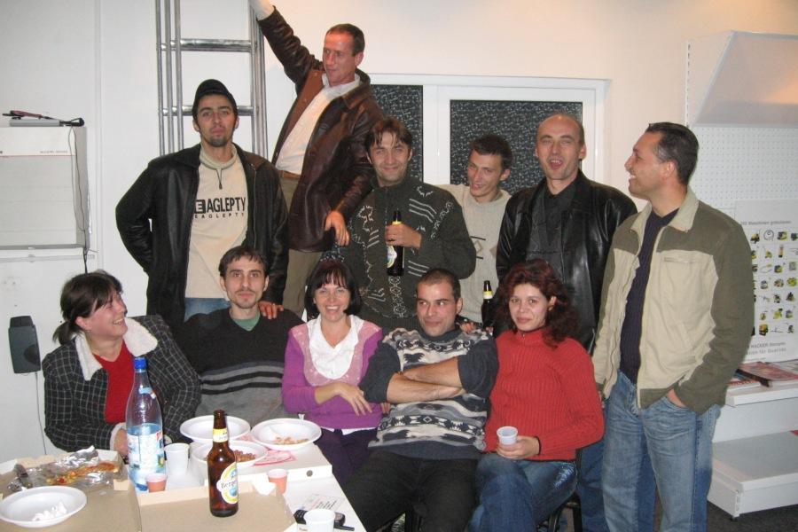 Amenajare locatie Canta - 2005