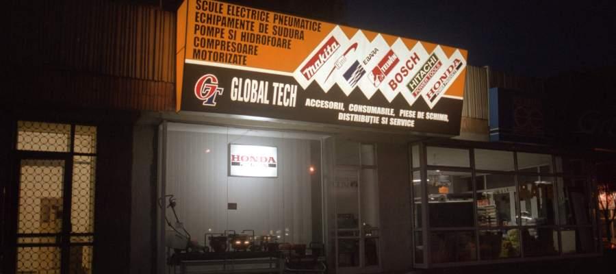 Imagini istoric Global Tech - primul magazin, a doua locatie