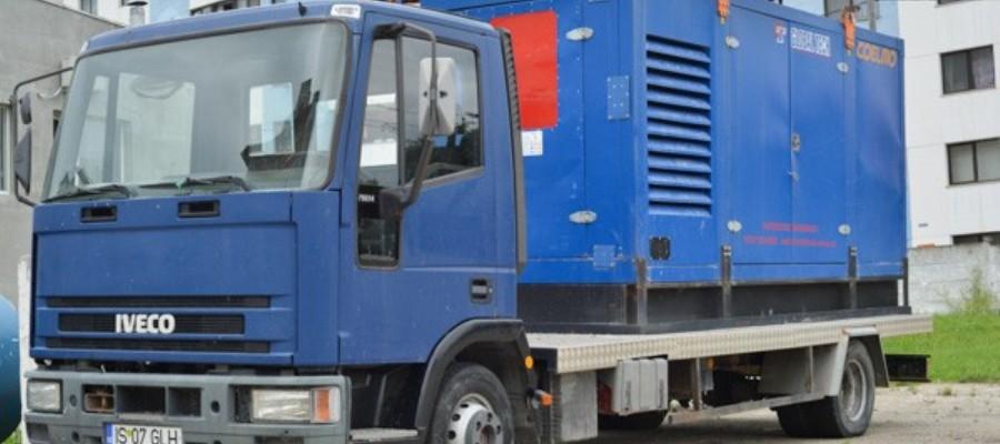 Servicii de inchirieri generatoare, echipamente si utilaje de constructii prin Global Tech