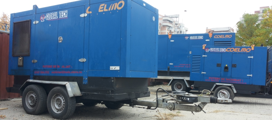 Servicii de inchirieri generatoare, echipamente si utilaje de constructii