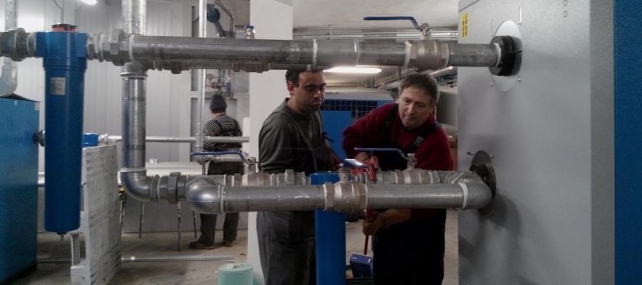 Instalare, intretinere si reparatii compresoare, generatoare si alte echipamente