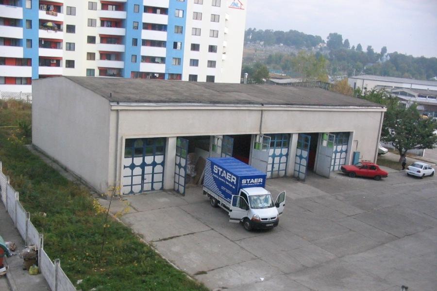 Sediul Global Tech inainte de modernizare in 2005