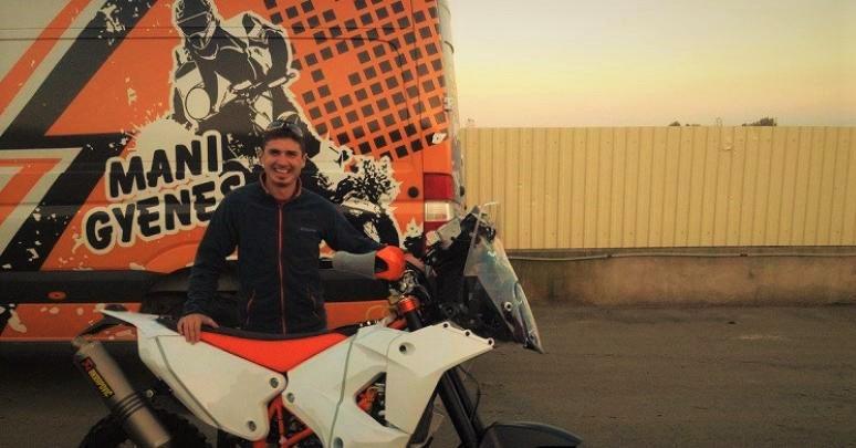 Emanuel Gyenes, pilot roman la raliul Dakar 2016