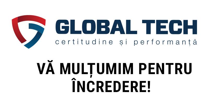Global Tech  SRL, locul intai la domeniul Comert!