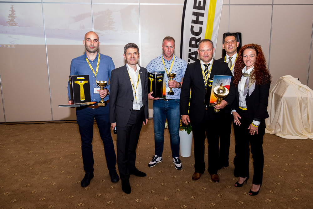 Global Tech din nou pe podium - Gala Karcher Romania