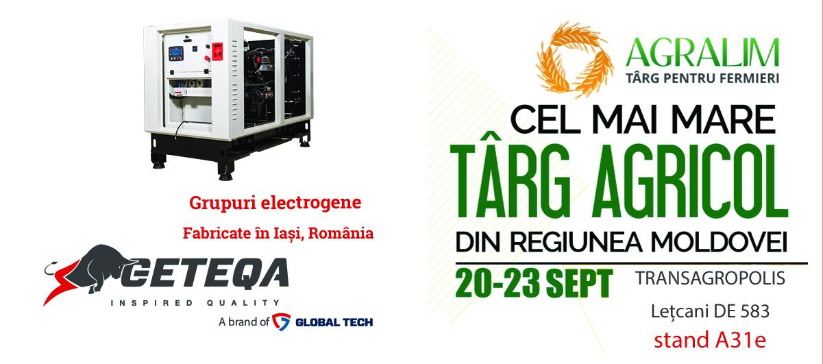 Geteqa by Global Tech va fi prezent la Targul pentru fermieri Agralim