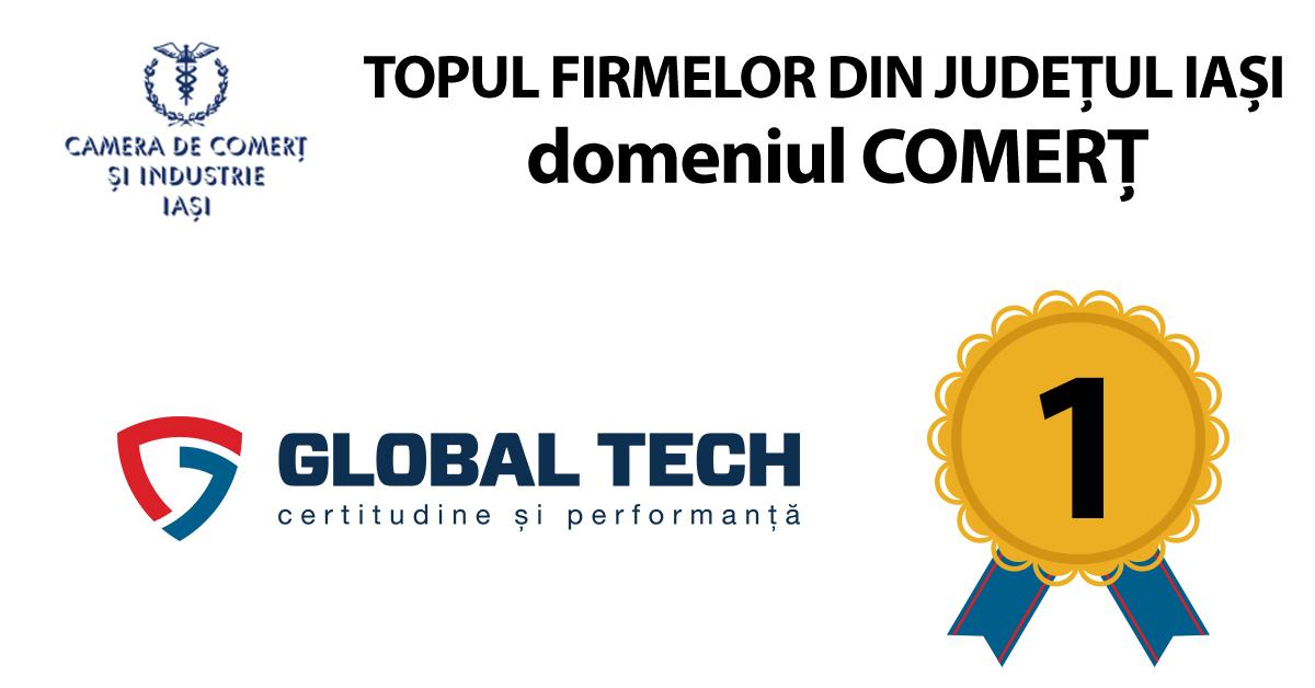 Global Tech, locul intai pentru al doilea an consecutiv